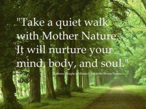 take a quit walk